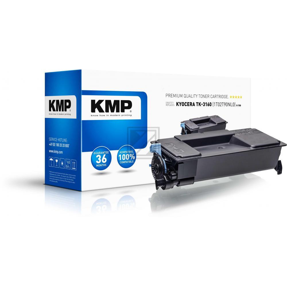 KMP Toner-Kartusche schwarz (2917,0000, K-T80)