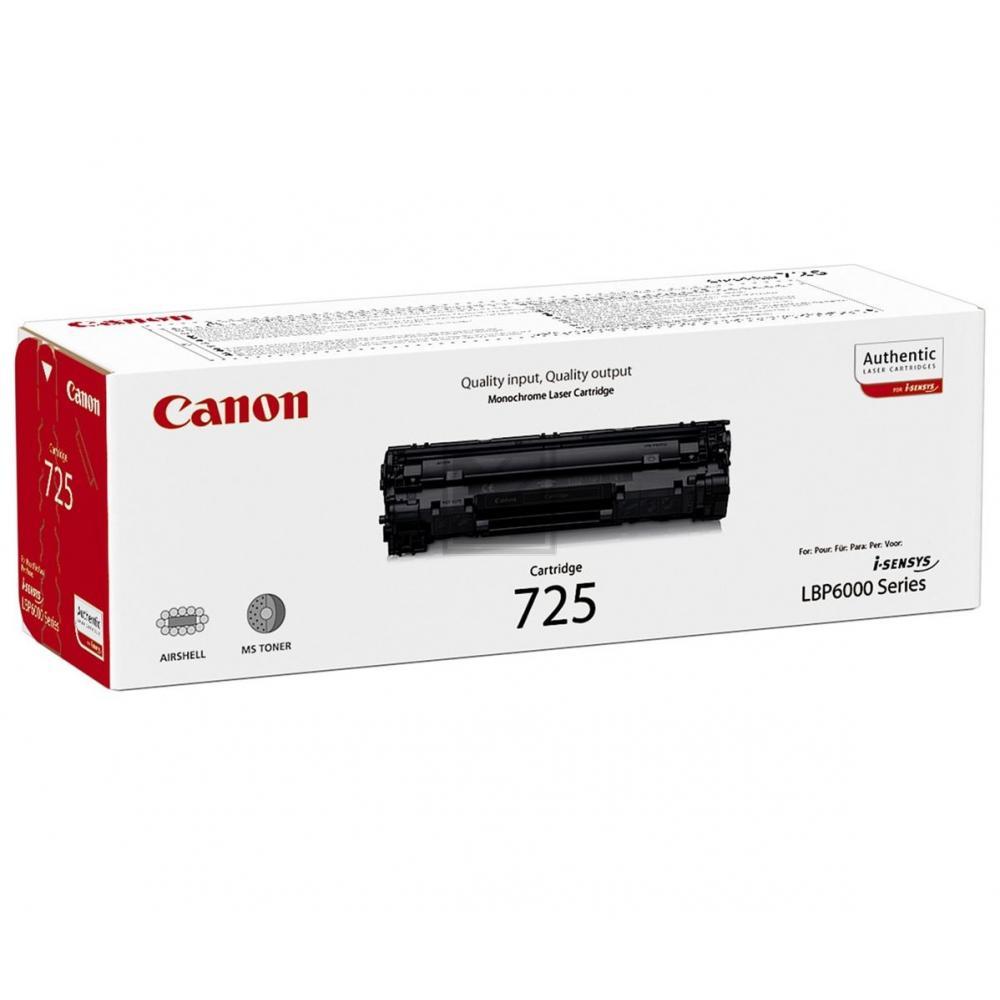 Canon Toner-Kartusche schwarz (3484B002, 725)