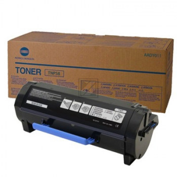 TNP55 // AADY050 / Black // Toner f. Bizhub 3602 / AADY050 // 15.000 Seiten