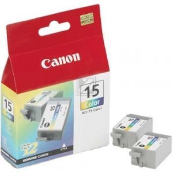 Canon Tintenpatrone 3-farbig 2-er Pack (8191A002, BCI-15C)
