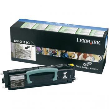 Lexmark Toner-Kartusche Prebate schwarz HC (X340H11G)