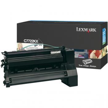 Original Lexmark C7722KX Toner Black (Original)
