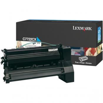 Original Lexmark C7722CX Toner Cyan (Original)