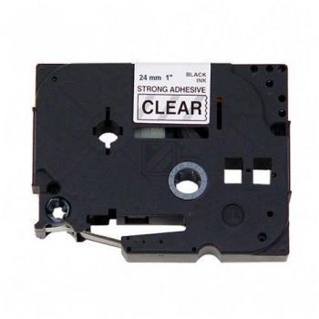 Brother Schriftbandkassette schwarz/transparent (TZE-S151)