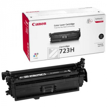Canon Toner-Kartusche schwarz HC (2645B002, 723H)