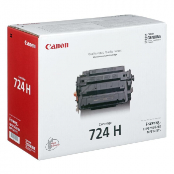 Canon Toner-Kartusche schwarz HC (3482B002 3482B002AA, 724H)