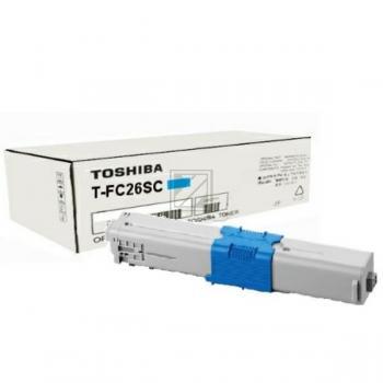 Toshiba Toner-Kit cyan (6B000000354, T-FC26SC)