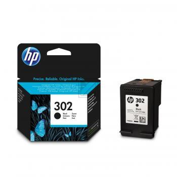 Original HP F6U66AE 302 Tinte Black (Original)