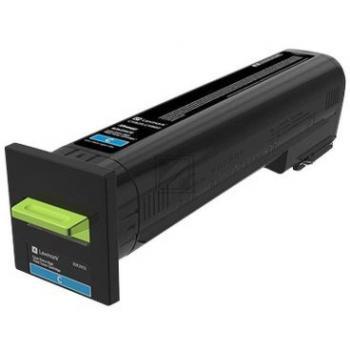 Lexmark Toner-Kit Corporate cyan HC plus (82K2XCE)