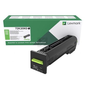 Lexmark Toner-Kit Return schwarz (72K20K0)