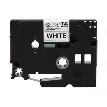 Brother Schriftbandkassette weiß/schwarz (TZE-315)
