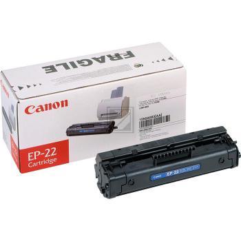 Canon Toner-Kartusche schwarz (1550A003, EP-22)