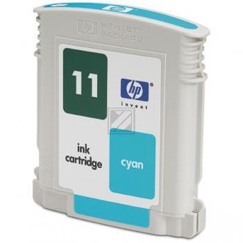 HP Tintenpatrone cyan HC (C4836AE, 11)