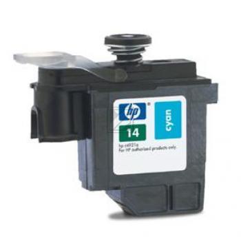 HP Tintendruckkopf cyan (C4921AE, 14)