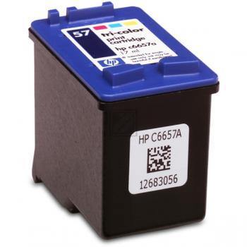 HP Tintendruckkopf cyan/gelb/magenta HC (C6657AE, 57)