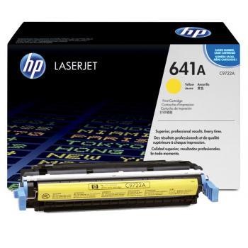 HP Toner-Kartusche gelb (C9722A, 641A)