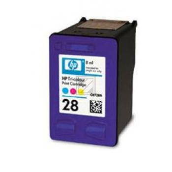 HP Tintendruckkopf cyan/gelb/magenta (C8728AE, 28)