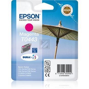 Epson Tintenpatrone magenta HC (C13T04434010, T0443)