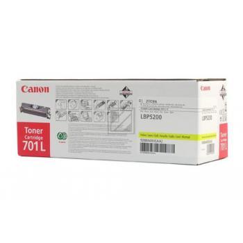 Canon Toner-Kit gelb (9288A003 9288A003AA, 701L)