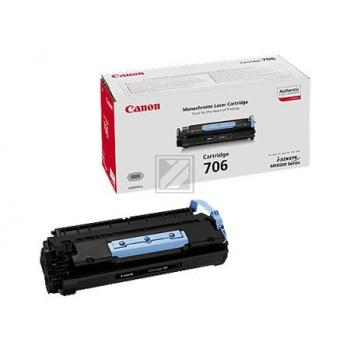 Canon Toner-Kartusche schwarz (0264B002, 706)