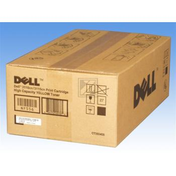 Dell Toner-Kartusche gelb HC (593-10165 593-10173 593-10221, NF556 XG724 YG436)