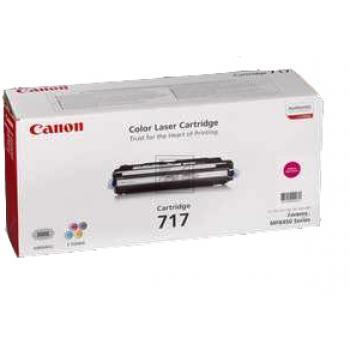 Canon Toner-Kartusche magenta (2576B002, 717)