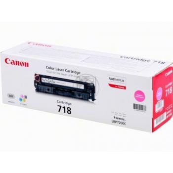 Canon Toner-Kartusche magenta (2660B002, CL-718M)
