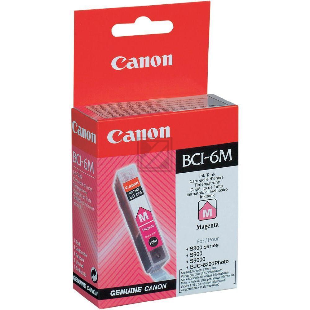 Canon Tintenpatrone magenta (4707A002, BCI-6M)