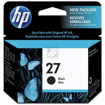 HP Tintendruckkopf schwarz HC (C8727AE, 27)