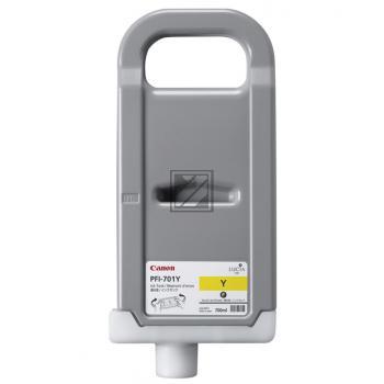 Canon Tintenpatrone gelb HC (0903B005, PFI-701Y)
