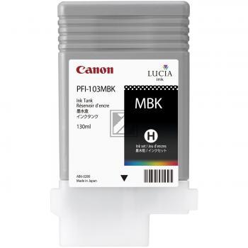 Canon Tintenpatrone schwarz matt (2211B001 2211B001AA, PFI-103MBK)