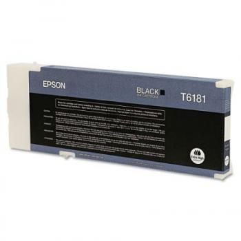 Epson Tintenpatrone schwarz HC plus (C13T618100, T6181)