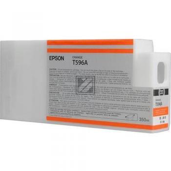 Epson Tintenpatrone orange HC (C13T596A00, T596A)