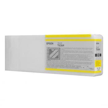 Epson Tintenpatrone gelb (C13T636400, T6364)