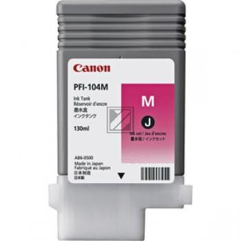 Canon Tintenpatrone magenta (3631B001, PFI-104M)