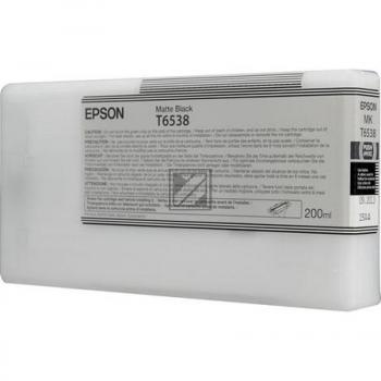 EPSON     Tintenpatrone    matte schwarz