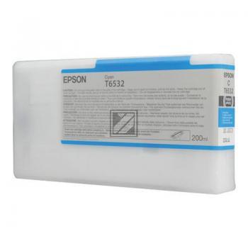 Epson Tintenpatrone Ultra Chrome Hdr cyan (C13T653200, T6532)