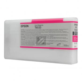 Epson Tintenpatrone Ultra Chrome HDR magenta (C13T653300, T6533)