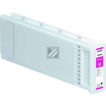 Epson Tintenpatrone UltraChrome XD magenta HC plus (C13T694300, T6943)