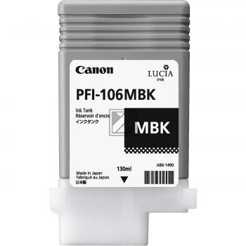 Canon Tintenpatrone schwarz matt (6620B001, PFI-106MBK)