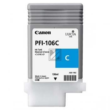 Canon Tintenpatrone cyan (6622B001, PFI-106C)