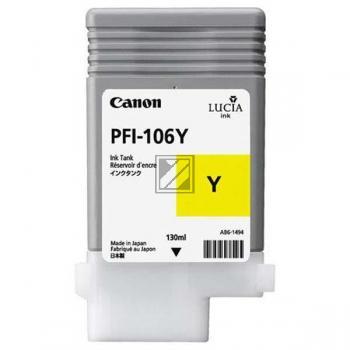 Canon Tintenpatrone gelb (6624B001, PFI-106Y)