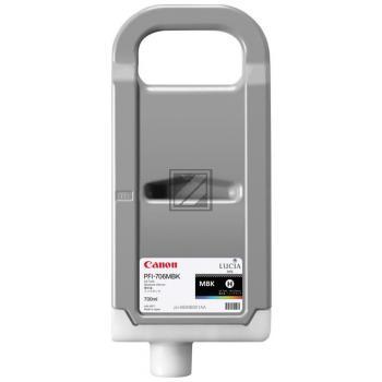 Canon Tintenpatrone schwarz matt HC (6680B001, PFI-706MBK)