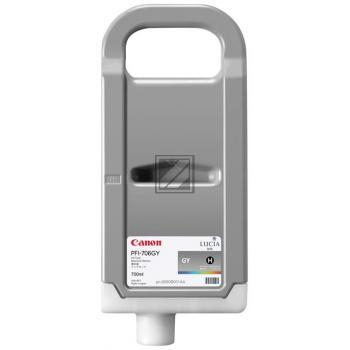 Canon Tintenpatrone grau HC (6690B001, PFI-706GY)