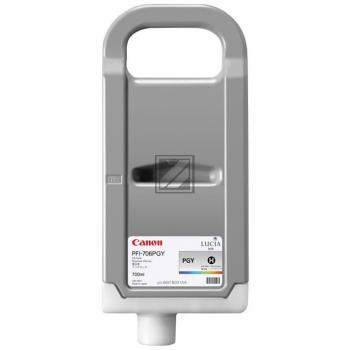 Tinte f. Canon imagePROGRAF iPF8400 [PFI-706PGY] HC photo-grey