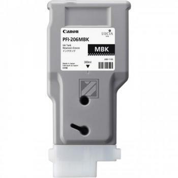 Canon Tintenpatrone schwarz matt HC (5302B001, PFI-206MBK)