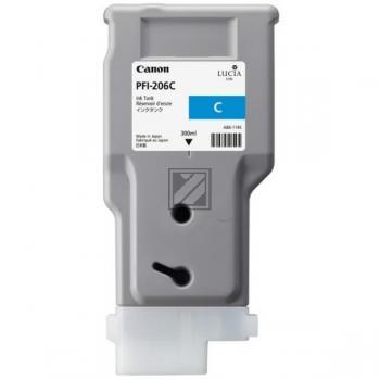 Canon Tintenpatrone cyan HC (5304B001, PFI-206C)