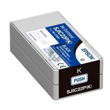 Epson Tintenpatrone schwarz (C33S020601, SJIC22P(K))