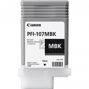 Canon Tintenpatrone schwarz matt (6704B001, PFI-107MBK)
