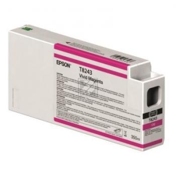 Epson Tintenpatrone magenta (C13T824300, T8243)